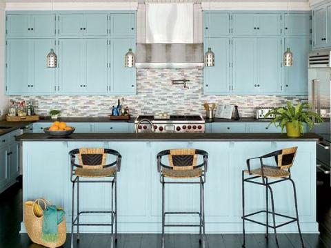 Cute small kitchen f
