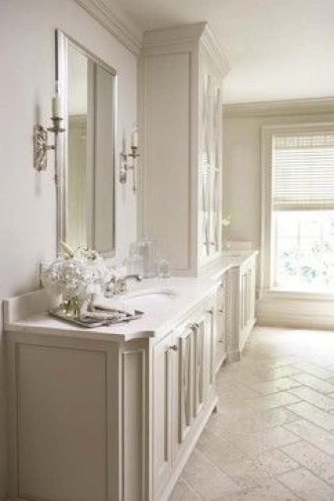 bathroom with herrin