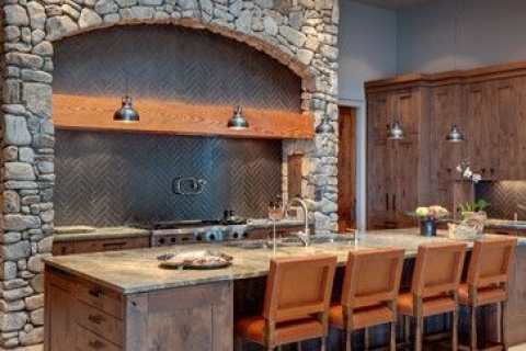 awesome farm kitchen