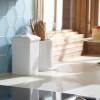 Honeycomb tile backsplash