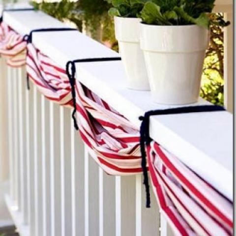 DIY Patriotic Buntin