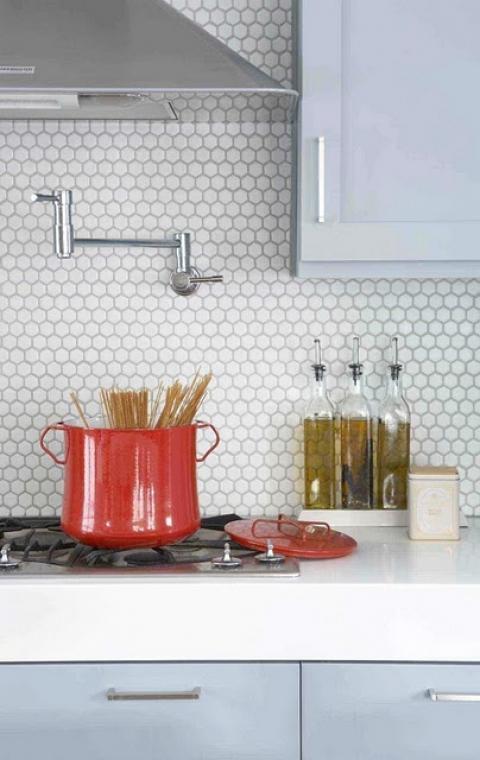 honeycomb tile backs